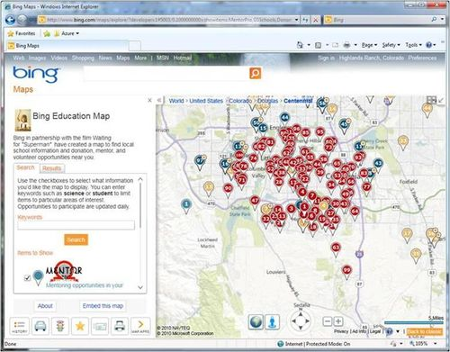 Bing-for-education-map