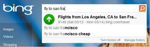 Bing-Autosuggest-Flight-Prices