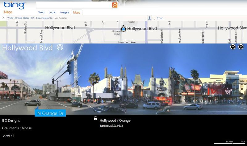 Bing-Maps-Streetside-Hollywood-Highland-Los-Angeles