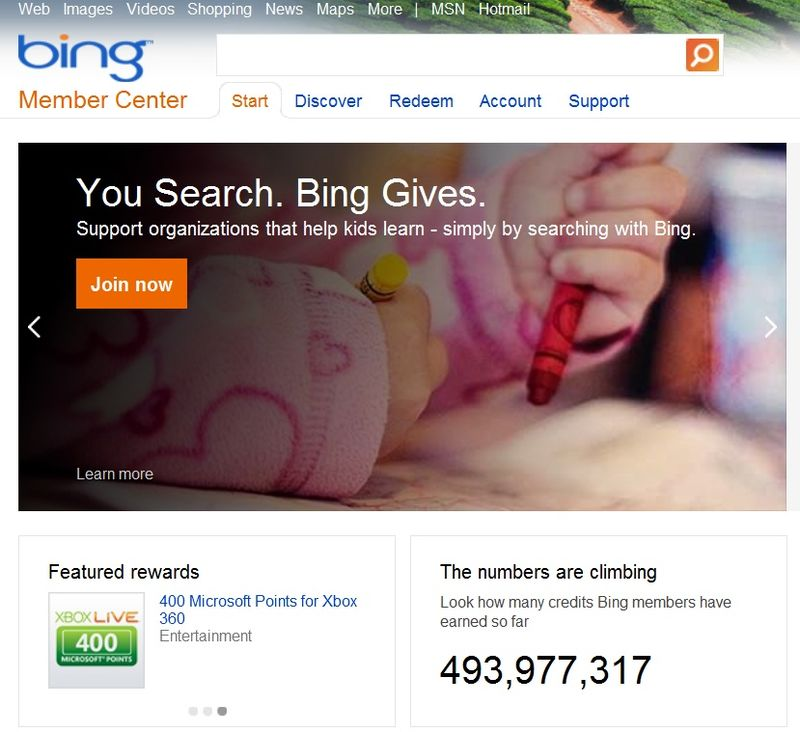 Bing-rewards-one-year