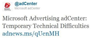 Bing-ad-center-technical-difficulties
