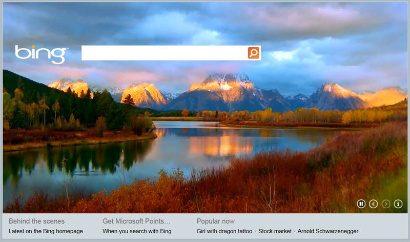 Bing-HTML5-home-page