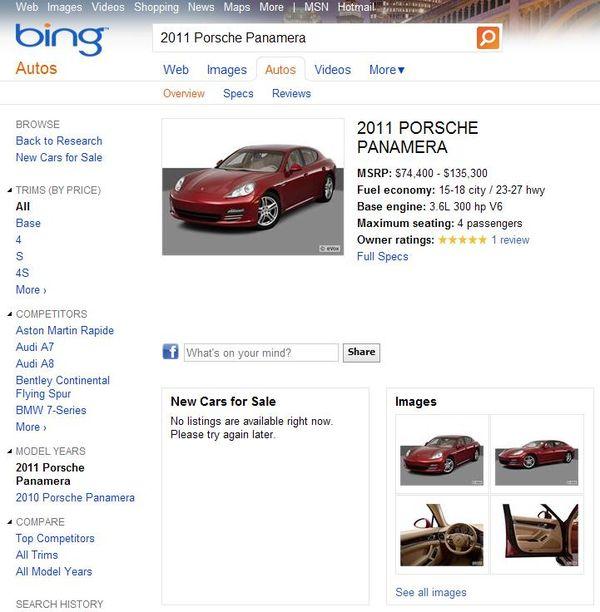 Bing-autos