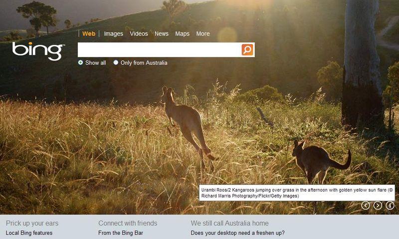Bing-australia