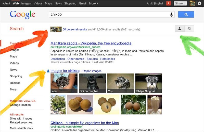 Google-Search-Personal-Results