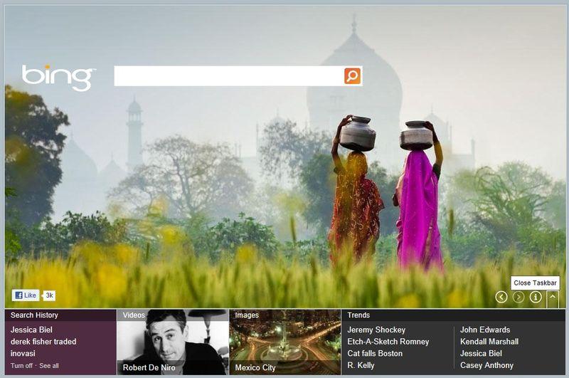 Bing-metro-style-task-bar